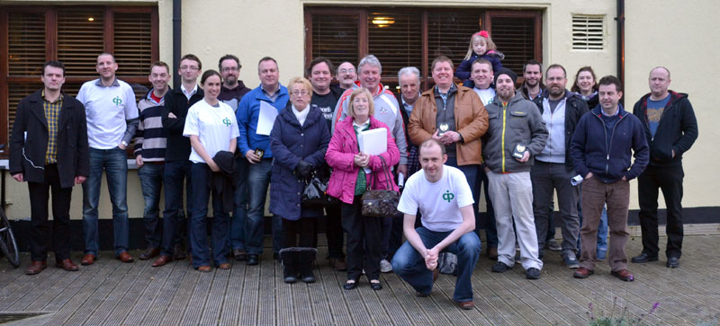 Some of the competitors who took part in the inaugural Dublin Quiz Open.