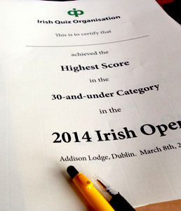 2014 Irish Open